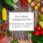 "Blood-sugar crashes can occur in those with type diabetes. But for some people without the disease, low blood sugar can cause anxiety and other side effects. To prevent ""hypo"" the non diabetic hypoglycemia diet can help. And learning about the causes of it, too."