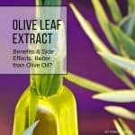 Olive leaf extract benefits and side effects include many of the former and few, if any, of the latter. In fact, it might even be better for your health than the oil.