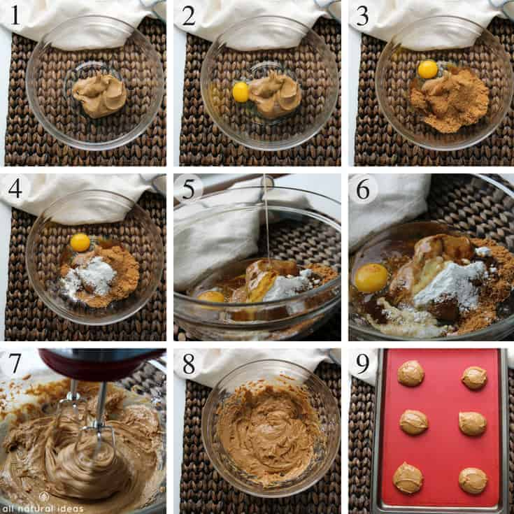How to make gluten free paleo almond butter cookies