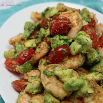 Grilled Cajun Shrimp and Avocado Salad