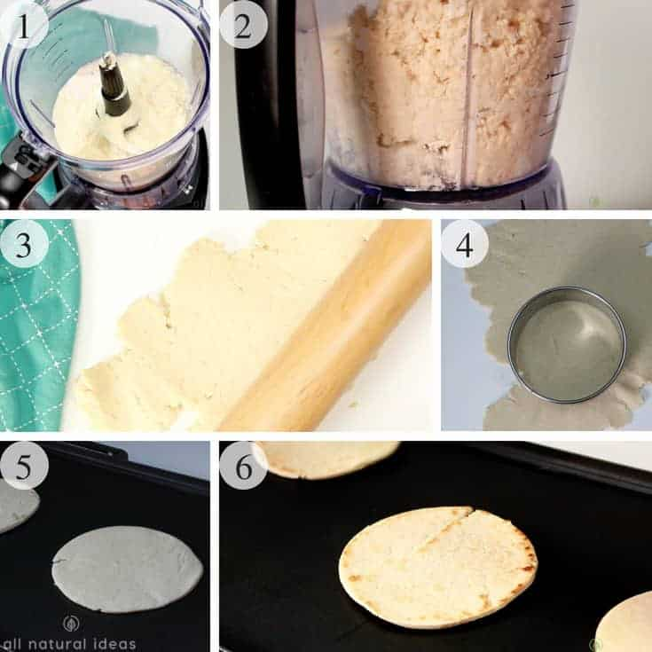 How to make homemade low carb gluten free tortillas