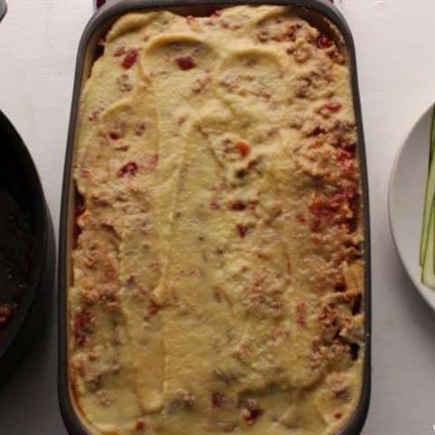 Paleo nutritional yeast vegan cheese sauce recipe made with cauliflower