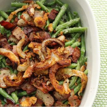 Healthy Paleo Green Bean Casserole