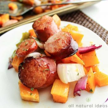 Butternut Squash and Sausage