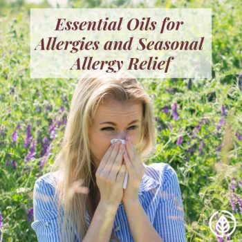If you're desperate for a natural solution for seasonal allergy relief, essential oils for allergies can help. There's research that proves they work in fighting pesky allergy symptoms such as sneezing.