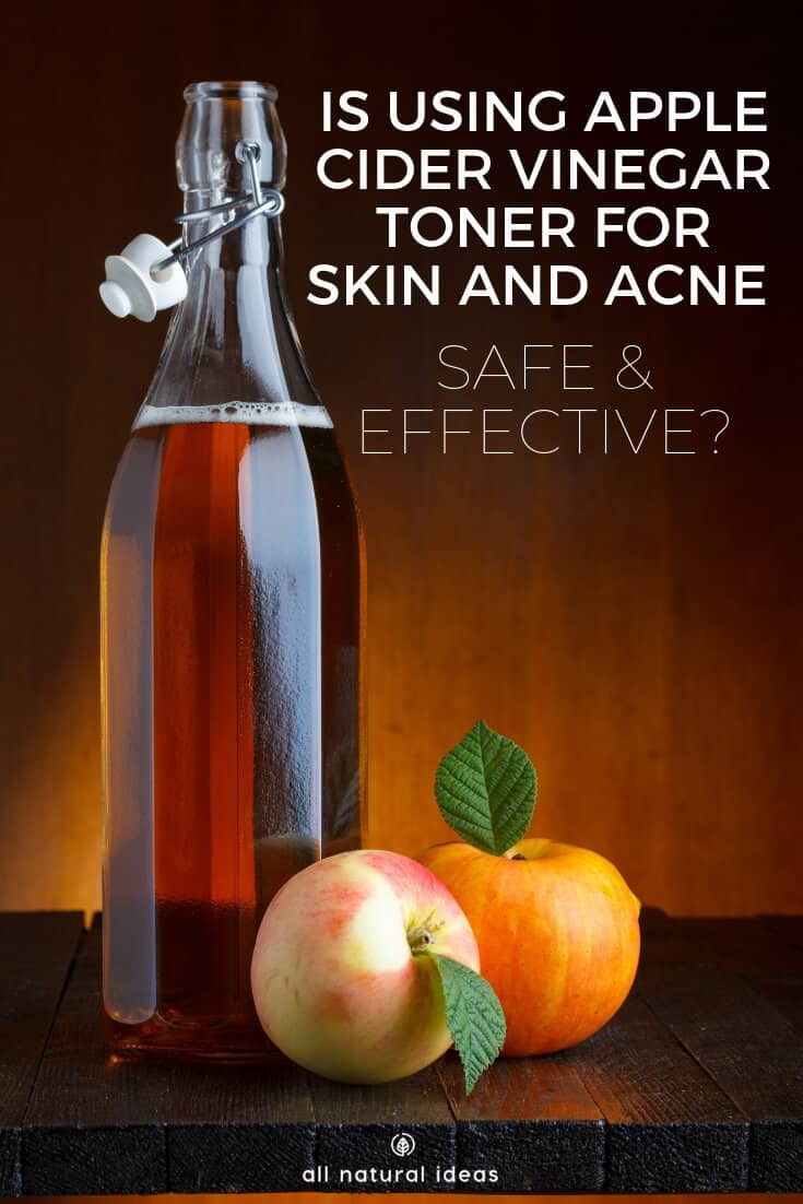 Got oily skin? Some people suggest ditching concealer and instead using an apple cider vinegar toner for skin problems, including acne. But is it safe and effective? How do you use it? And is there even proof it works?