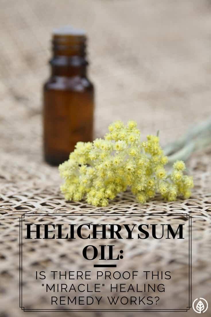 Helichrysum oil miracle healing