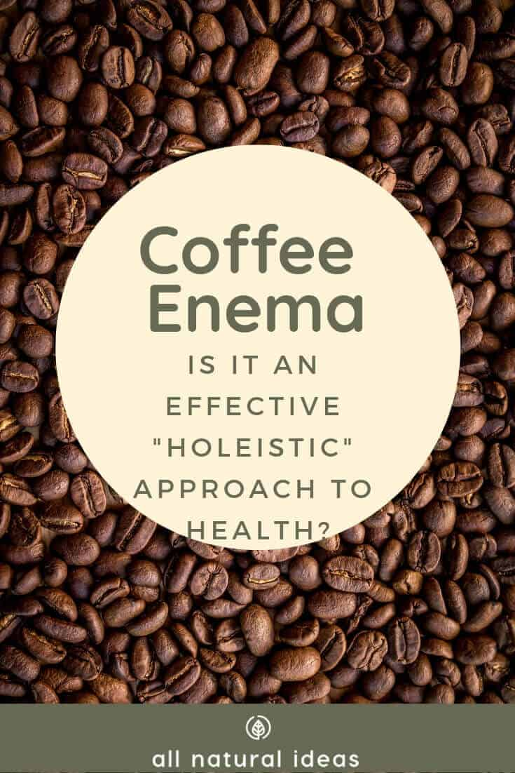 coffee enema - is it effective for detox?