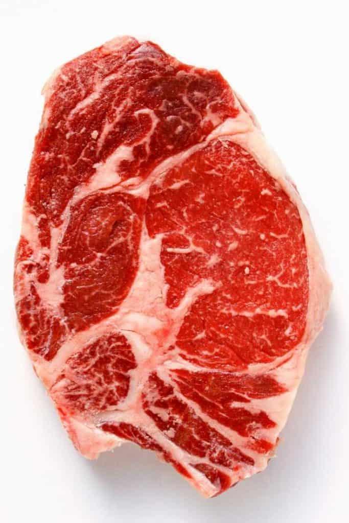 Bison Meat steak, healthy