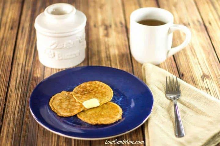 Flourless Egg Fast Pancakes