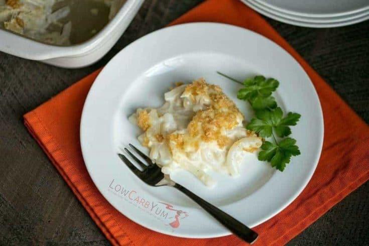 Shirataki Tuna Noodle Casserole